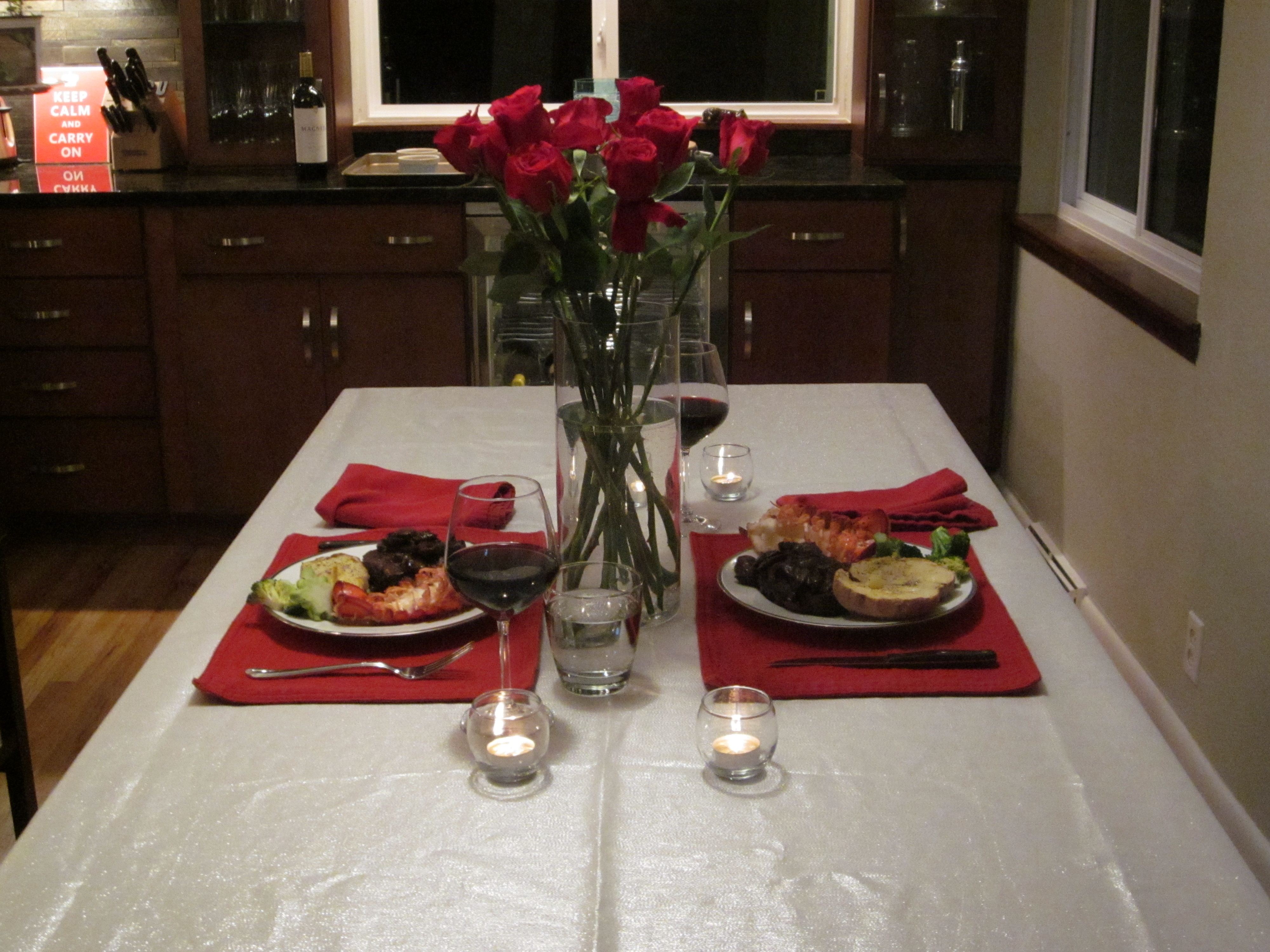 ultimate date night dinner at home surf and turf with molten